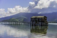 渔村,越南 免版税库存图片