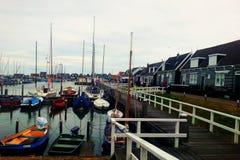 渔村 免版税图库摄影