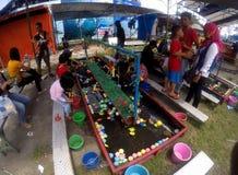 渔比赛 免版税图库摄影