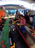 渔比赛 免版税库存图片