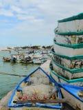 渔渔船海洋墨西哥码头 库存照片