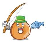 渔百吉卷吉祥人动画片样式 皇族释放例证