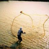 渔网 免版税库存照片