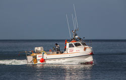 渔船。 库存照片