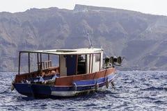 渔船休息 免版税库存照片
