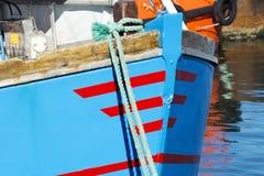 渔船在丹麦 免版税图库摄影