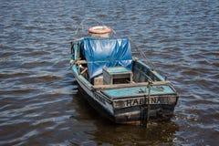 渔船在哈瓦那 免版税库存照片
