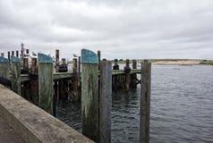 渔船坞 免版税库存图片