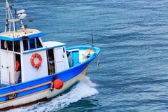 渔船客舱和弓  库存照片