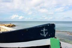 渔船弓 免版税库存照片