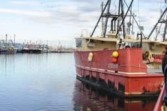 渔船自由在新贝德福德 免版税库存图片