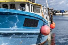 渔船细节 库存照片