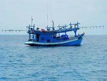 渔船 库存图片