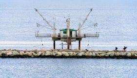 渔议院在拉韦纳 库存图片