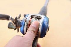 渔辅助部件 库存图片