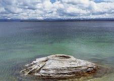 渔锥体,黄石国家公园, WY 库存照片