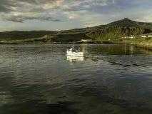 渔镇Olafsvik,冰岛 库存照片