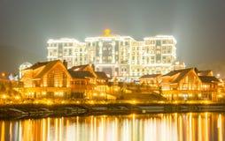 渠坝- 2015年3月26日:3月的渠坝Rixos旅馆 免版税库存图片