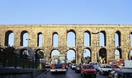 渡槽伊斯坦布尔 免版税库存照片