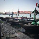 渡轮老迪拜阿拉伯联合酋长国 免版税库存图片
