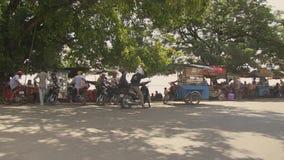 渡轮,湄公河,柬埔寨,东南亚 股票录像