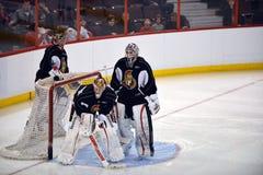 渥太华参议员在NHL锁定以后开张训练营 免版税库存照片