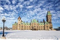 渥太华议会东部块 免版税库存图片
