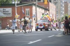 渥太华资本骄傲游行2017年 免版税图库摄影