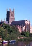 渥斯特大教堂 库存图片
