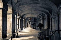 渥斯特学院前面画廊 库存图片