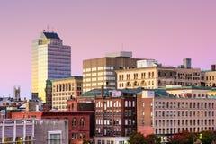 渥斯特马萨诸塞 免版税库存图片