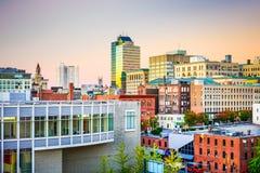 渥斯特,马萨诸塞,美国 图库摄影