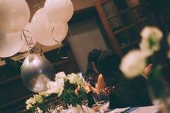温名人生日宴会在上海 免版税库存照片