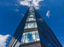 温哥华加拿大- 2017年5月14日,街市建筑学和大厦 免版税库存照片