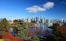 温哥华在加拿大 库存照片