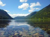 温哥华岛加拿大- Cameron湖 图库摄影