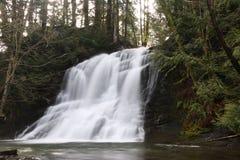 温哥华岛瀑布 库存照片