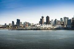 温哥华市-加拿大 免版税图库摄影