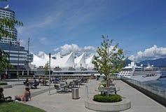 温哥华海滨公园 免版税库存图片