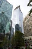 温哥华街市大厦 免版税库存图片