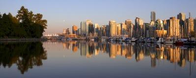 温哥华都市风景 库存图片