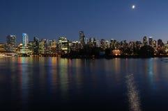 温哥华都市风景 免版税库存图片