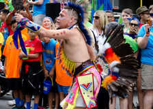 2016年温哥华骄傲游行在温哥华,加拿大 免版税库存图片