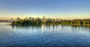 温哥华,加拿大,美国del norte 免版税库存照片