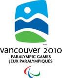 温哥华2010年Paralympic徽标 库存照片