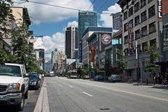 温哥华BC,加拿大 免版税库存照片