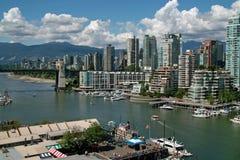 温哥华BC,加拿大 免版税库存图片