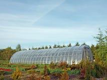 温室塑料 免版税库存照片