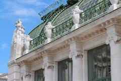 温室-维也纳-奥地利 免版税库存照片