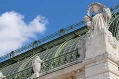 温室-维也纳-奥地利 图库摄影